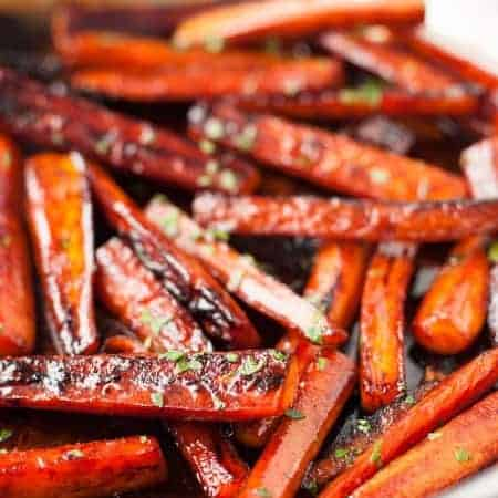 Glazed Stovetop Carrots