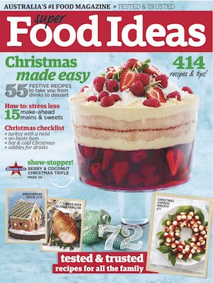 Super Food Ideas December 2015 Cover 2