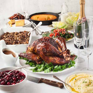 Thanksgiving or Christmas Menu