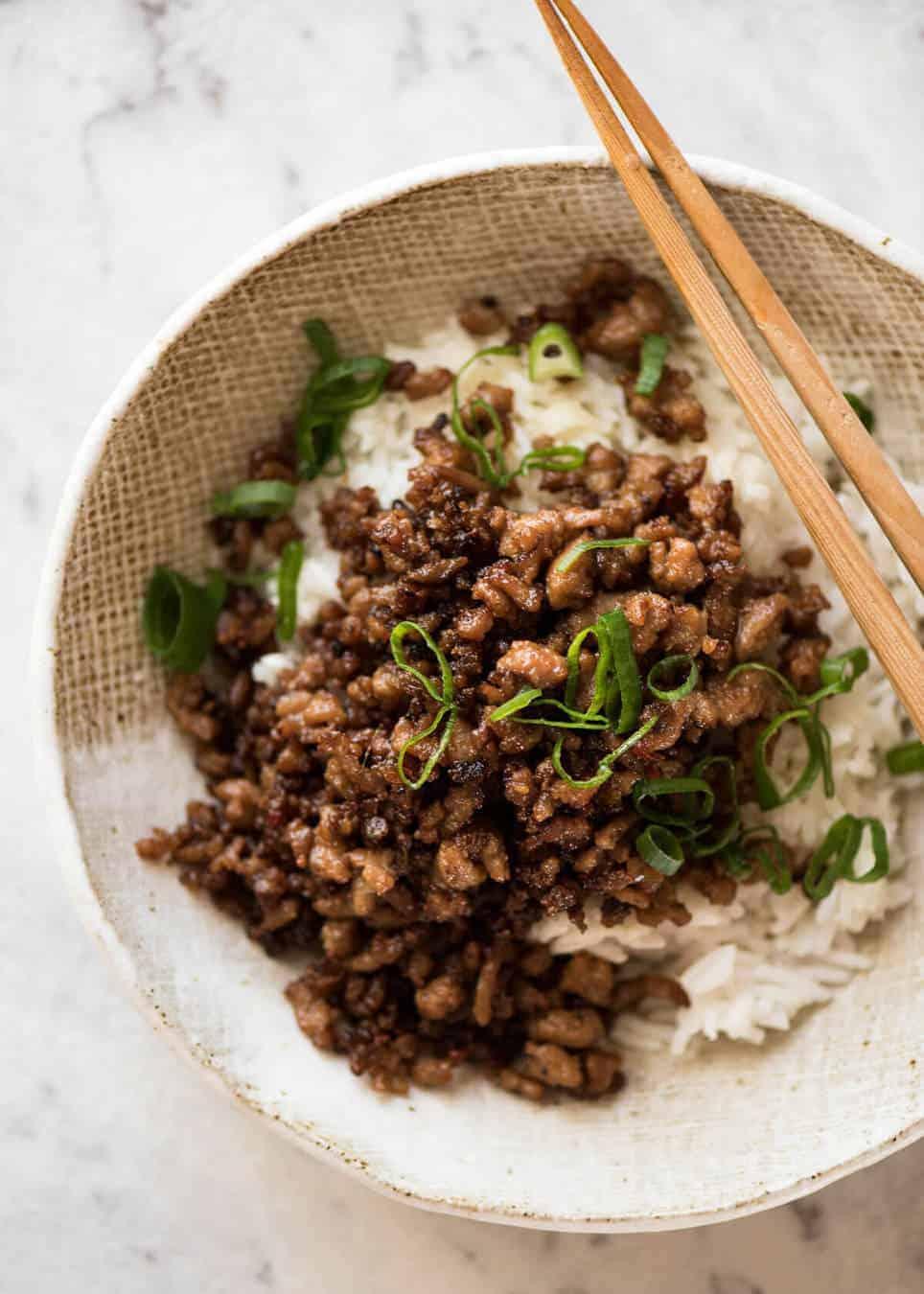 Vietnamese Caramelised Pork Bowls | RecipeTin Eats