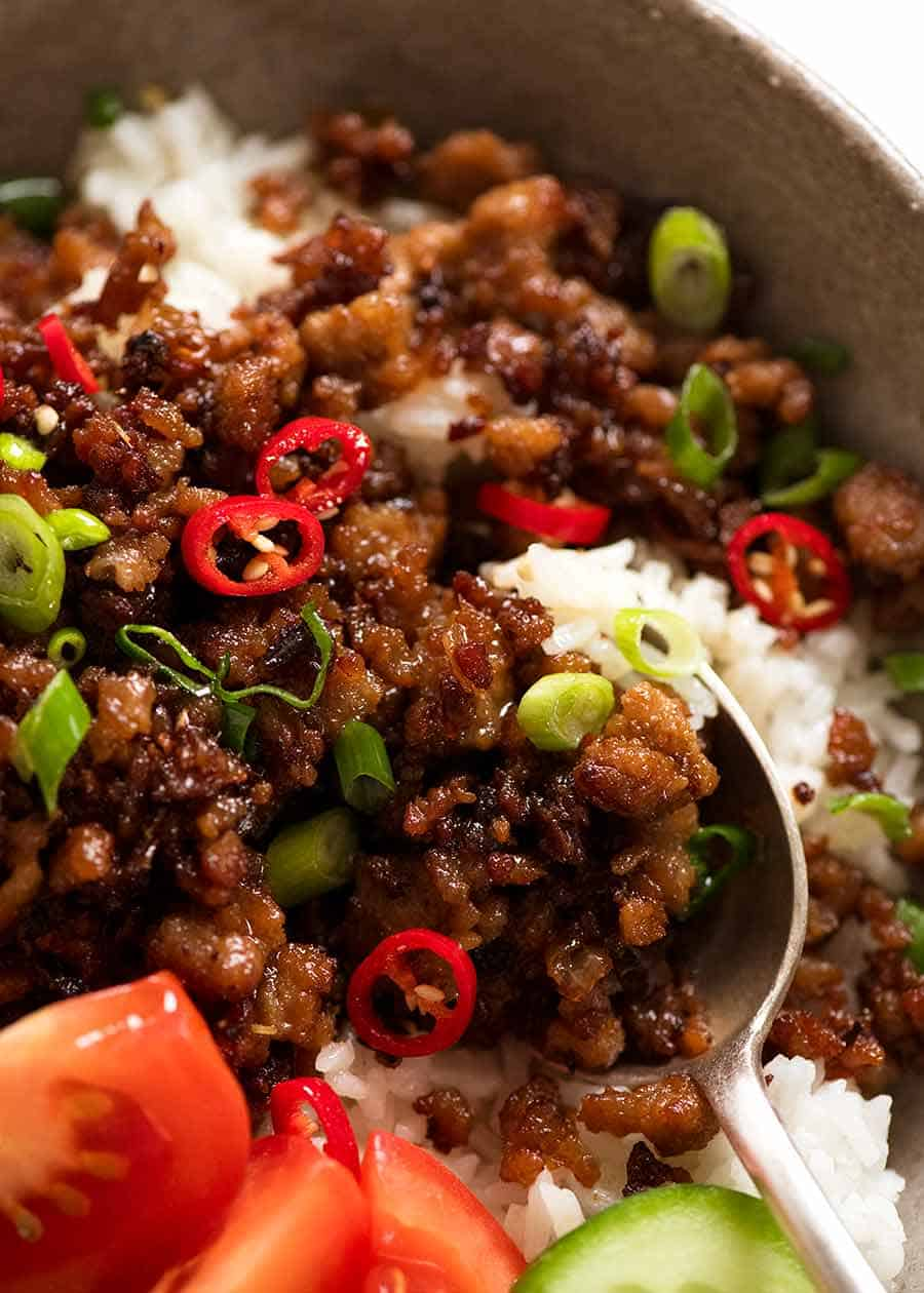 Vietnamese Caramelised Pork Bowls Recipetin Eats