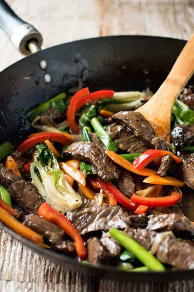Easy classic chinese beef stir fry recipetin eats easy classic chinese beef stir fry just like you get in restaurants forumfinder Image collections