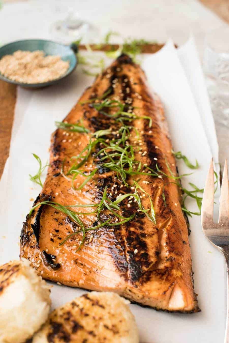 Japanese Miso Salmon Barbecue Or Bake Recipetin Eats