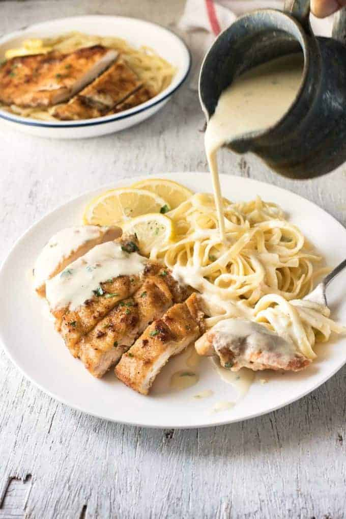 Creamy lemon chicken good food made quick and easy recipe tin eats creamy lemon chicken all made in one skillet and on the table in about forumfinder Images