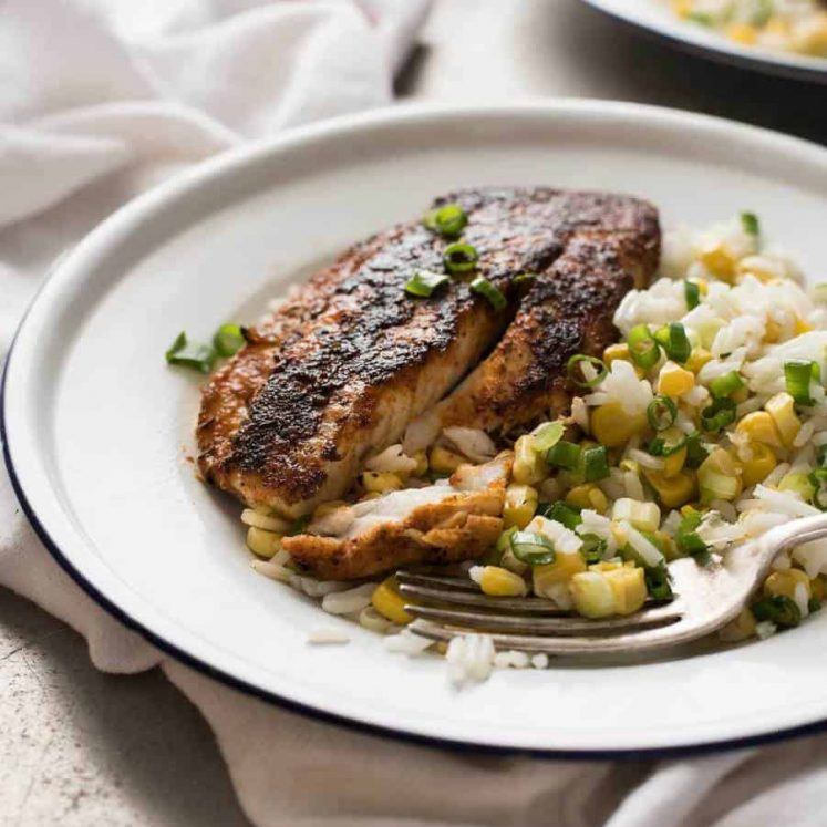 Cajun Blackened Fish - An incredible flavour explosion, so easy to make!