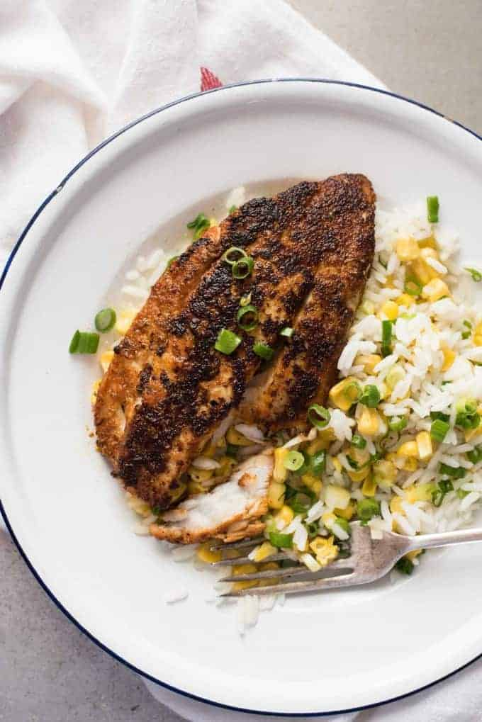 cajun blackened fish recipetin eats