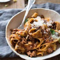 Italian Sausage & Beef Ragu Sauce