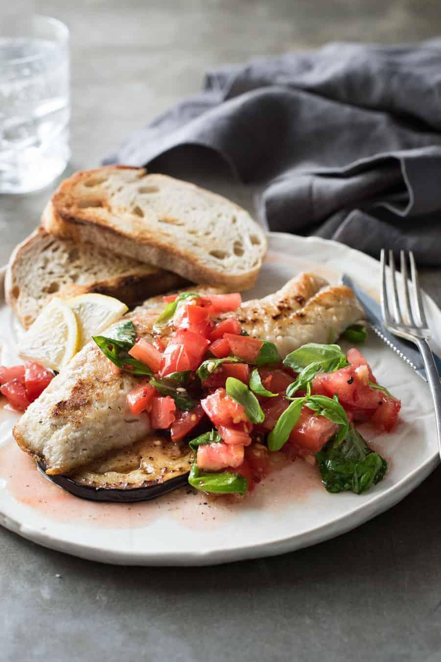 Italian Fish With Salsa Recipetin Eats