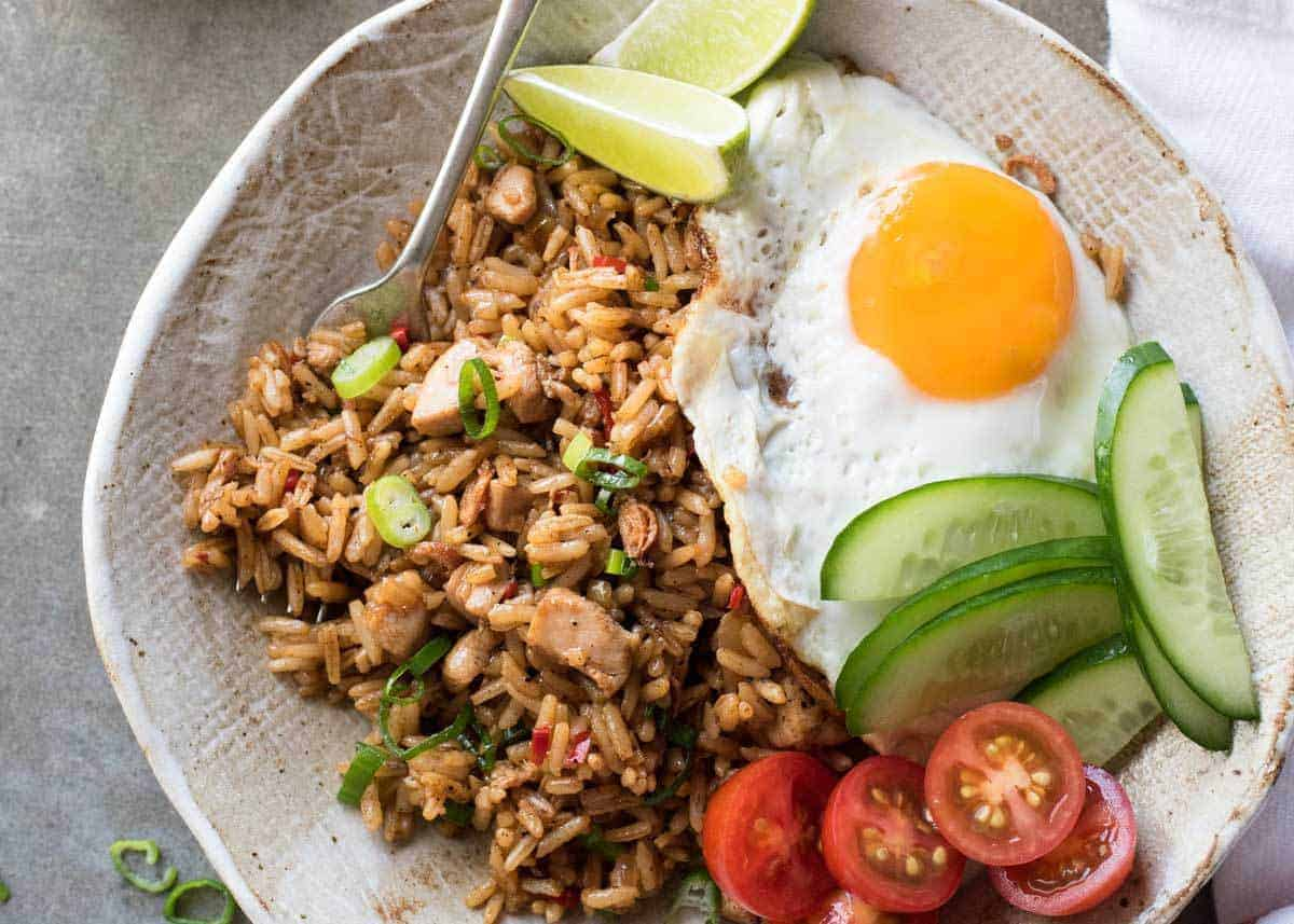 Nasi Goreng (Indonesian Fried Rice) | RecipeTin Eats
