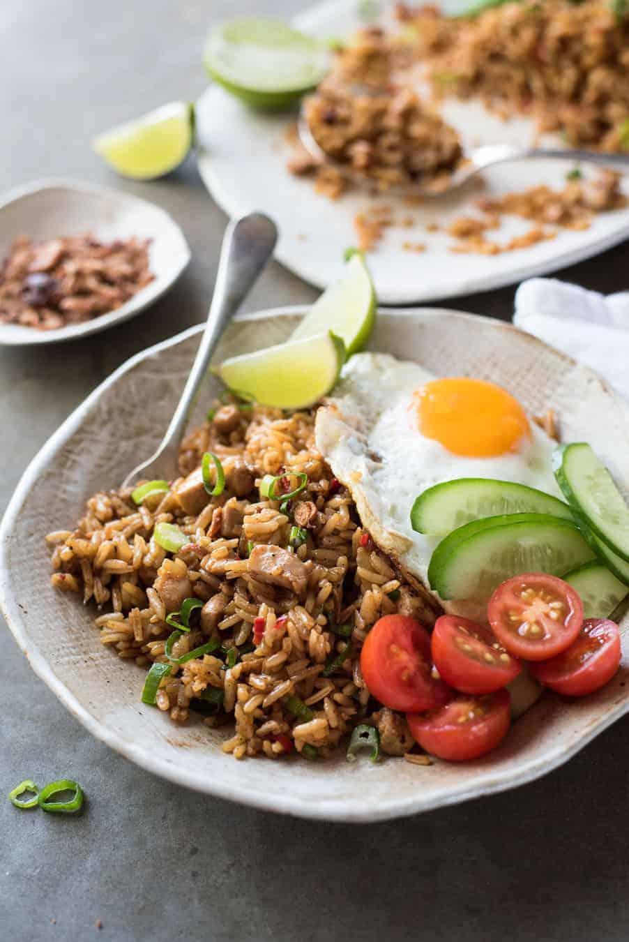 Nasi Goreng (Indonesian Fried Rice) | RecipeTin Eats