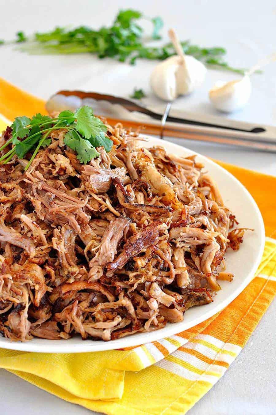 Pork carnitas mexican slow cooker pulled pork recipetin eats forumfinder Images