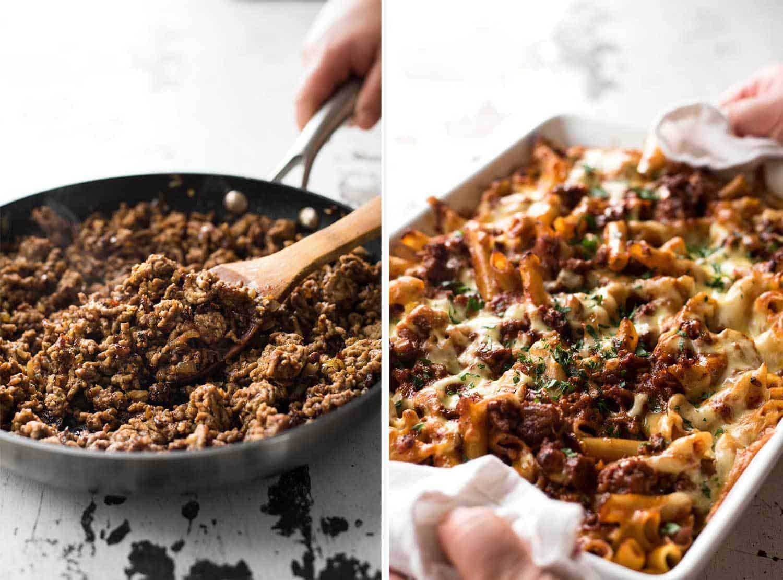 Italian Baked Ziti With Sausage