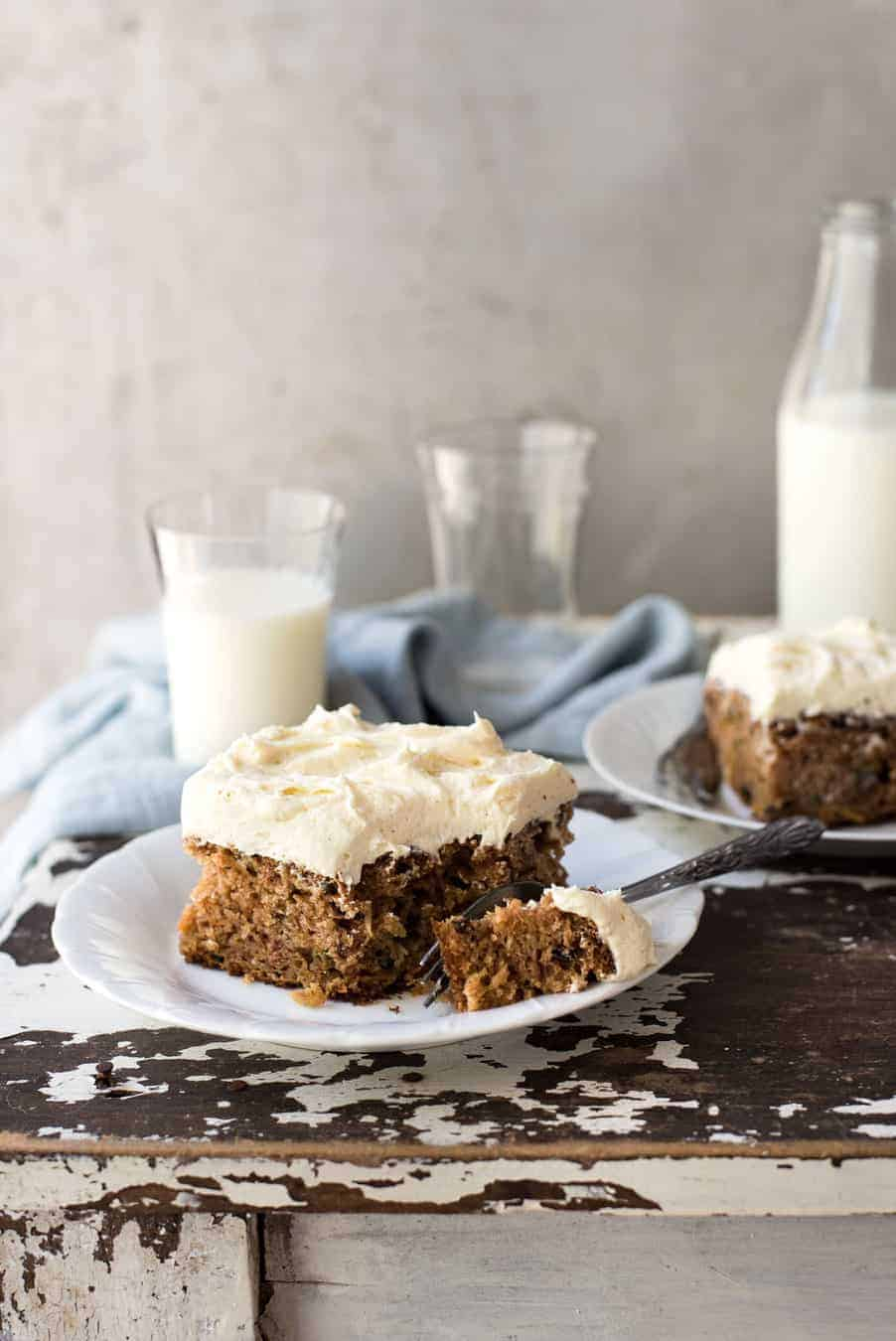 Dorothy's Carrot Cake - Moist, dense, not to sweet, with plenty of light and fluffy cream cheese frosting. Super easy!