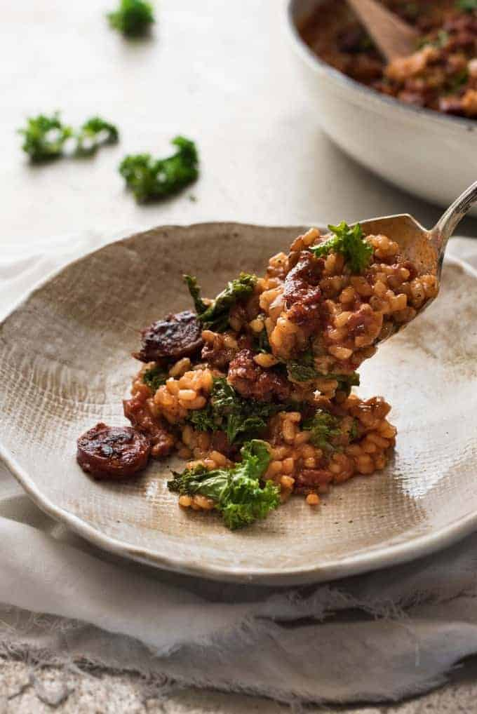 Easy chorizo risotto recipes