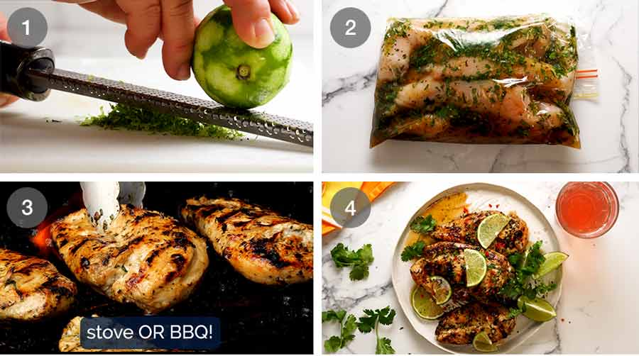 How to make Lime Chicken