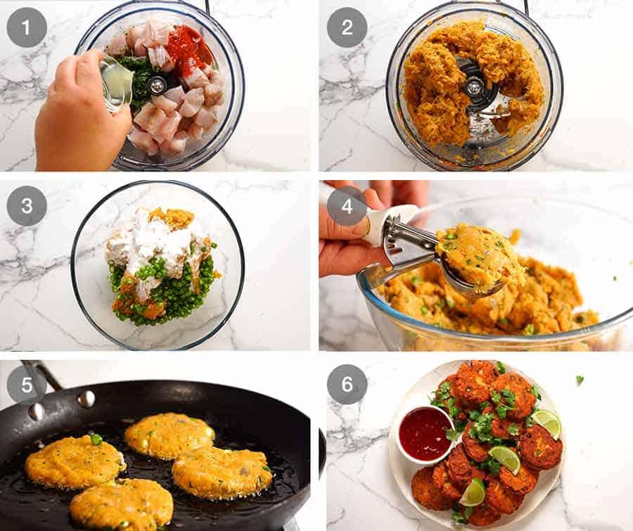 How to make Thai Fish Cakes