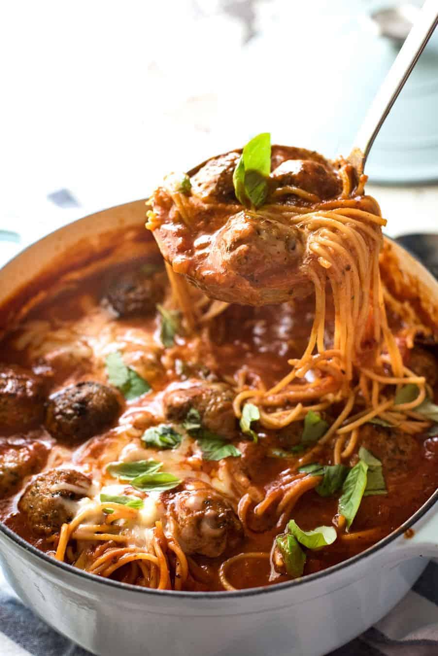 Italian Meatball Soup Recipetin Eats