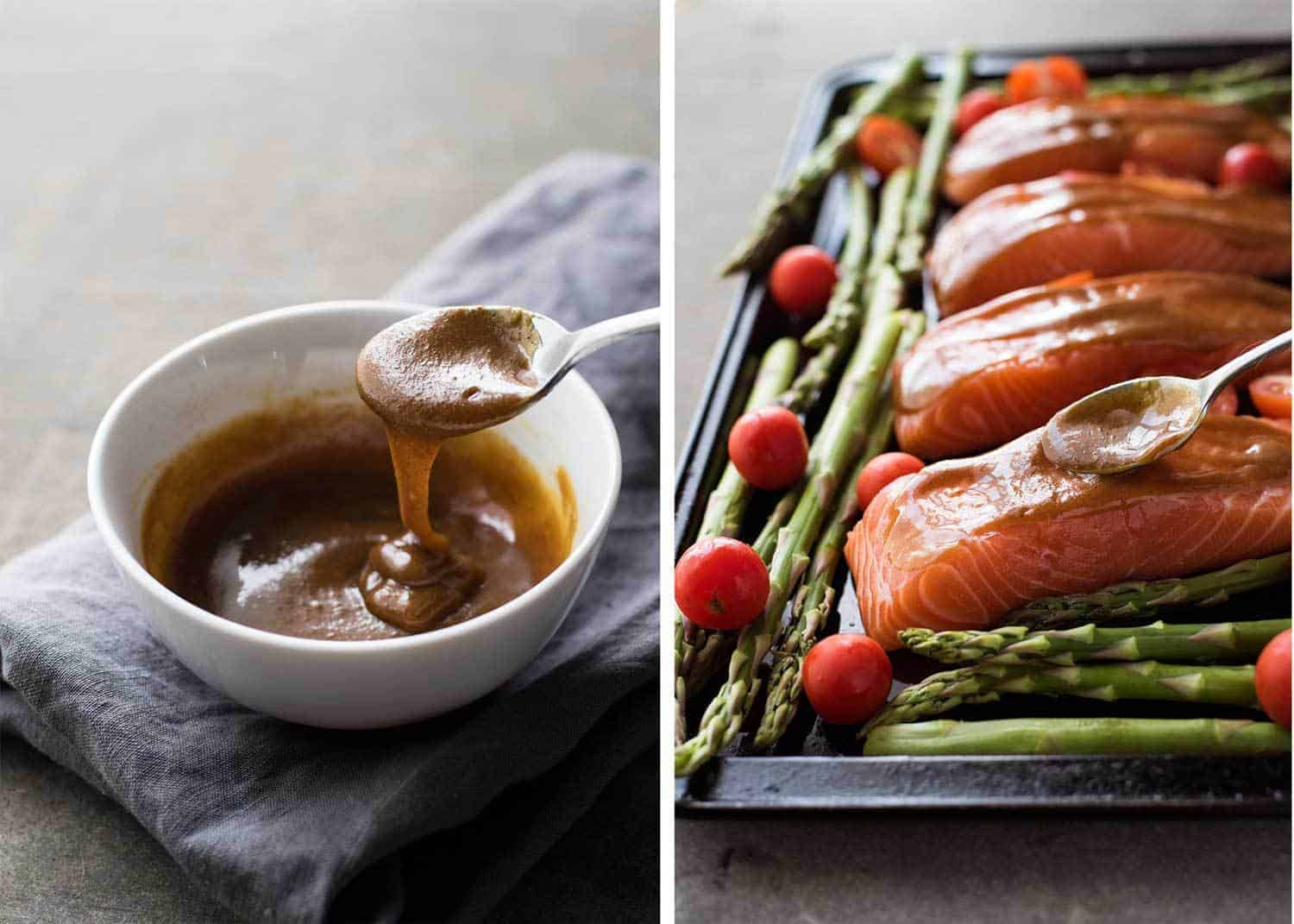 Brown sugar glaze for salmon