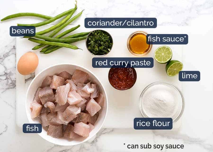 What goes in Thai Fish Cakes