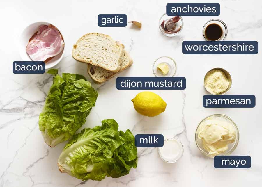 Caesar Salad Recipe Tin