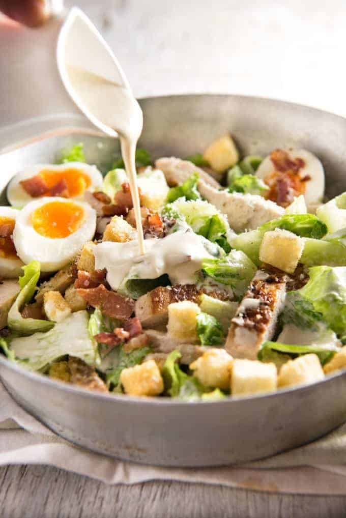 chicken caesar salad recipetin eats. Black Bedroom Furniture Sets. Home Design Ideas