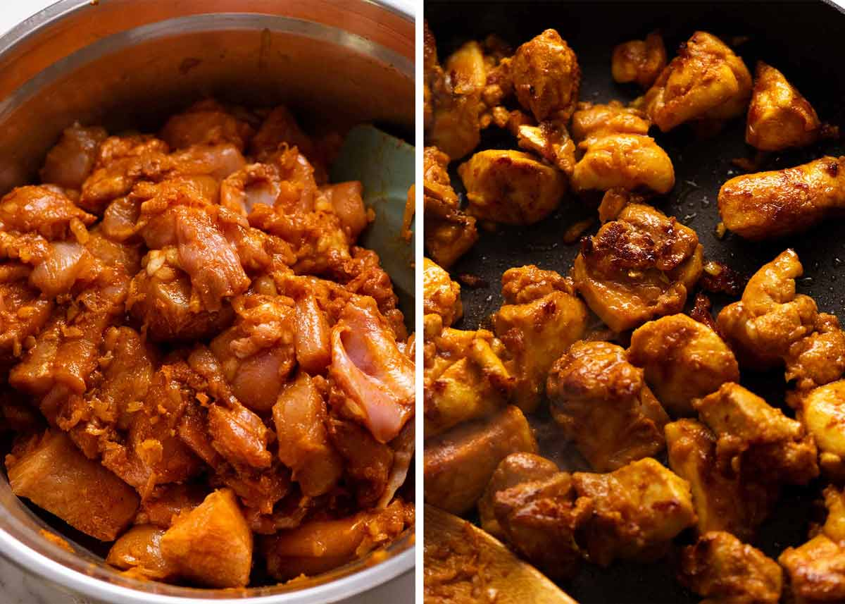 Satay Seasoning Marinated Chicken