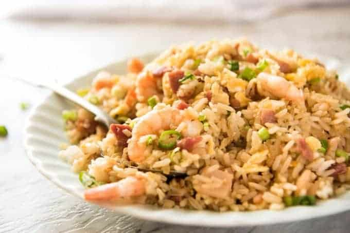 Chinese fried rice with shrimp prawns recipetin eats chinese fried rice a recipe for those who want chinese fried rice that really does ccuart Image collections