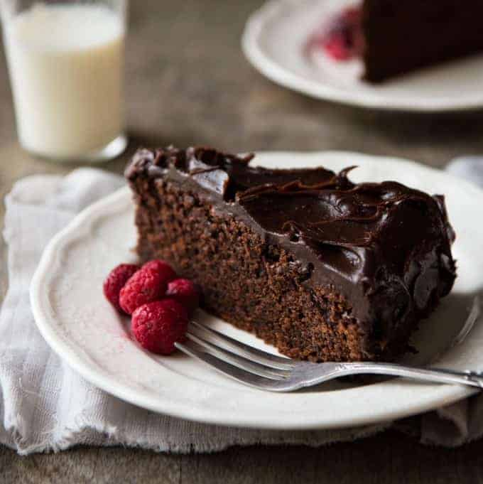 Made with real chocolate, not just cocoa powder, this is easy to make, very moist and super chocolatey! recipetineats.com
