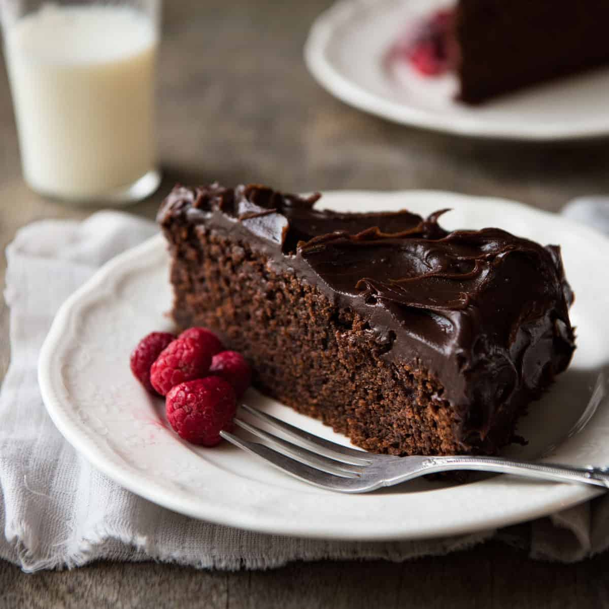 Easy Chocolate Fudge Cake | RecipeTin Eats