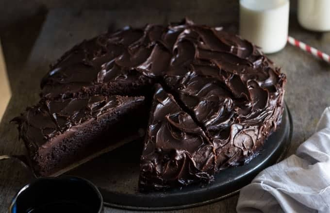 Chocolate Fudge Spoon Cake Recipe