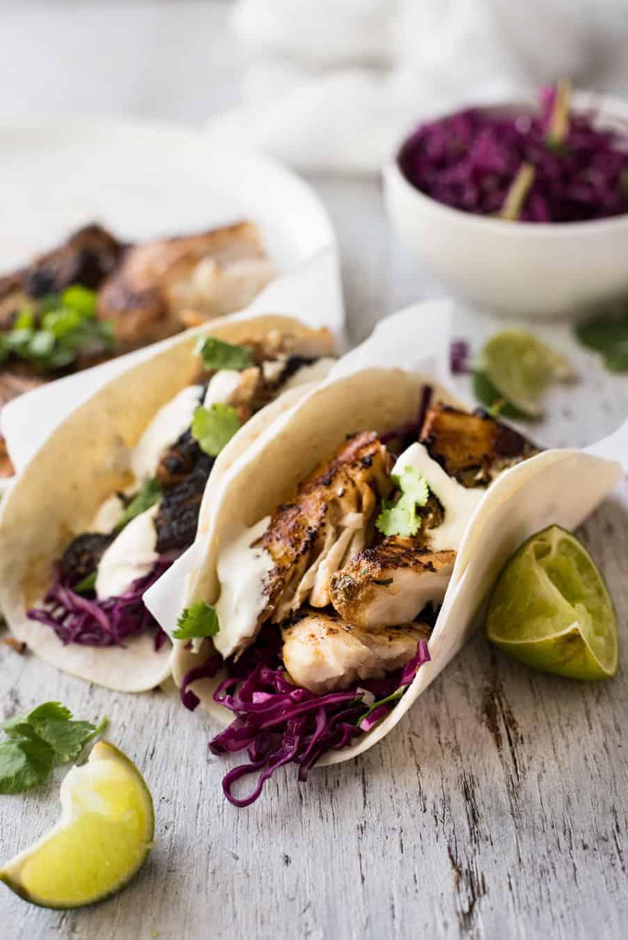 Fish taco marinade recipes for Recipes for fish tacos