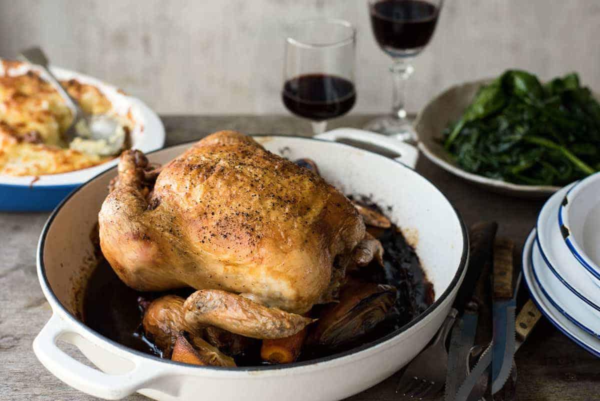Classic Roast Chicken | RecipeTin Eats