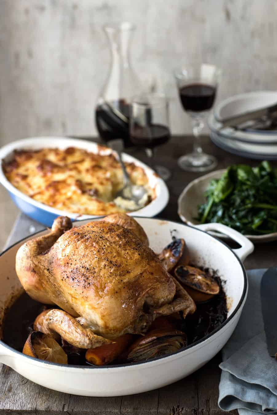 Classic Roast Chicken | I've made this recipe so many times, it's perfect!