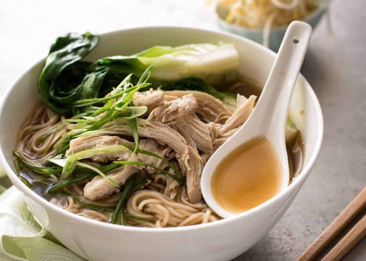 Chinese Glass Noodles Soup Recipe