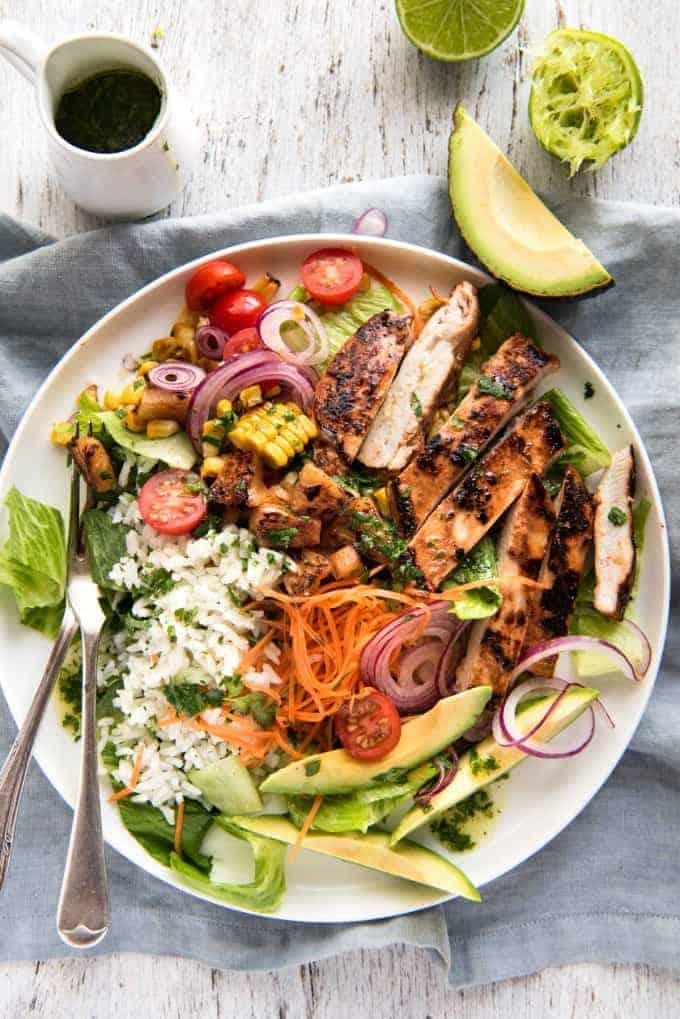 Hawaiian Chicken Salad | Recipetin Eats