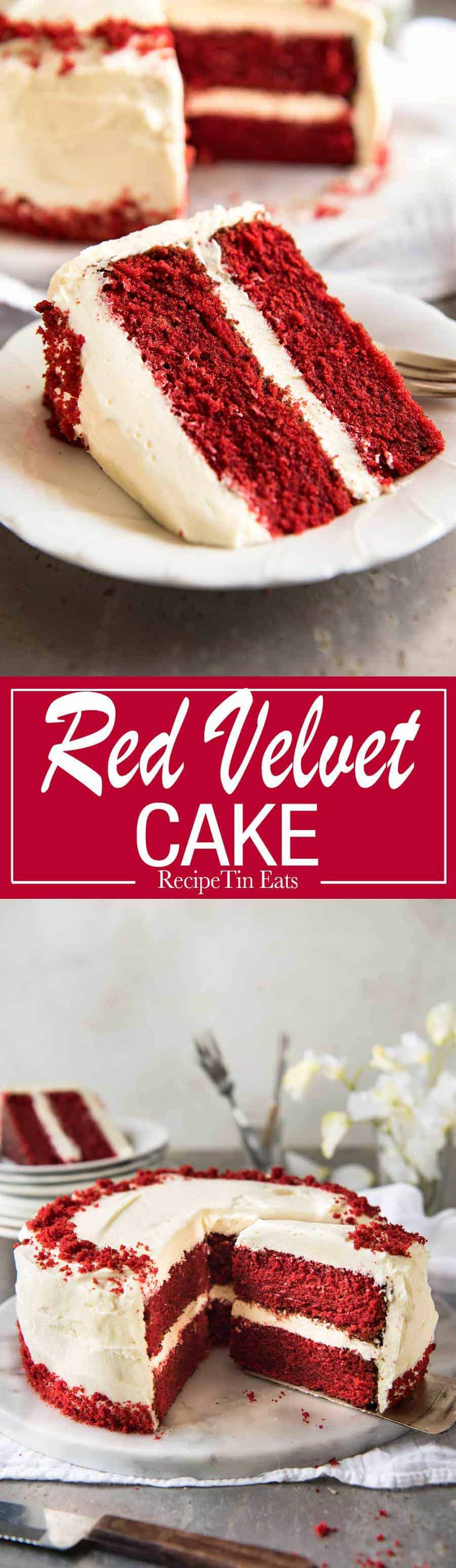 "Made this for a birthday party, everyone was floored by how ""velvety"" and soft the sponge is. And the frosting is just perfect! Easy to follow steps, concisely written!"