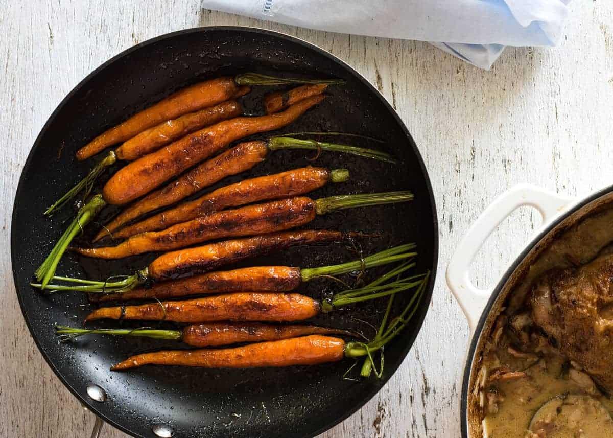 Stovetop Glazed Carrots