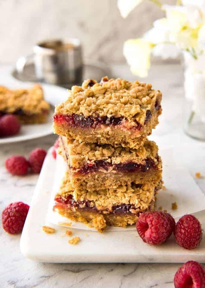 Jam Bars With Cake Mix