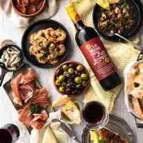 5 Easy Spanish Tapas recipes - all your favorites from the tapas bar! Garlic mushrooms, chorizo, garlic shrimp/prawns, Spanish marinated olives , Spanish omelette and a cheese platter! recipetineats.com