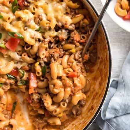 Cheeseburger Casserole (Homemade Hamburger Helper)