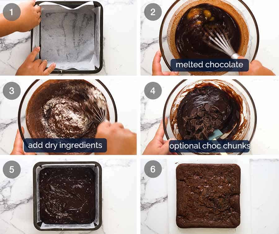 How brownies are made