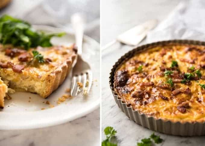 Quiche lorraine recipetin eats easy quiche lorraine a beautiful smooth soft custard filling this is the best forumfinder Image collections
