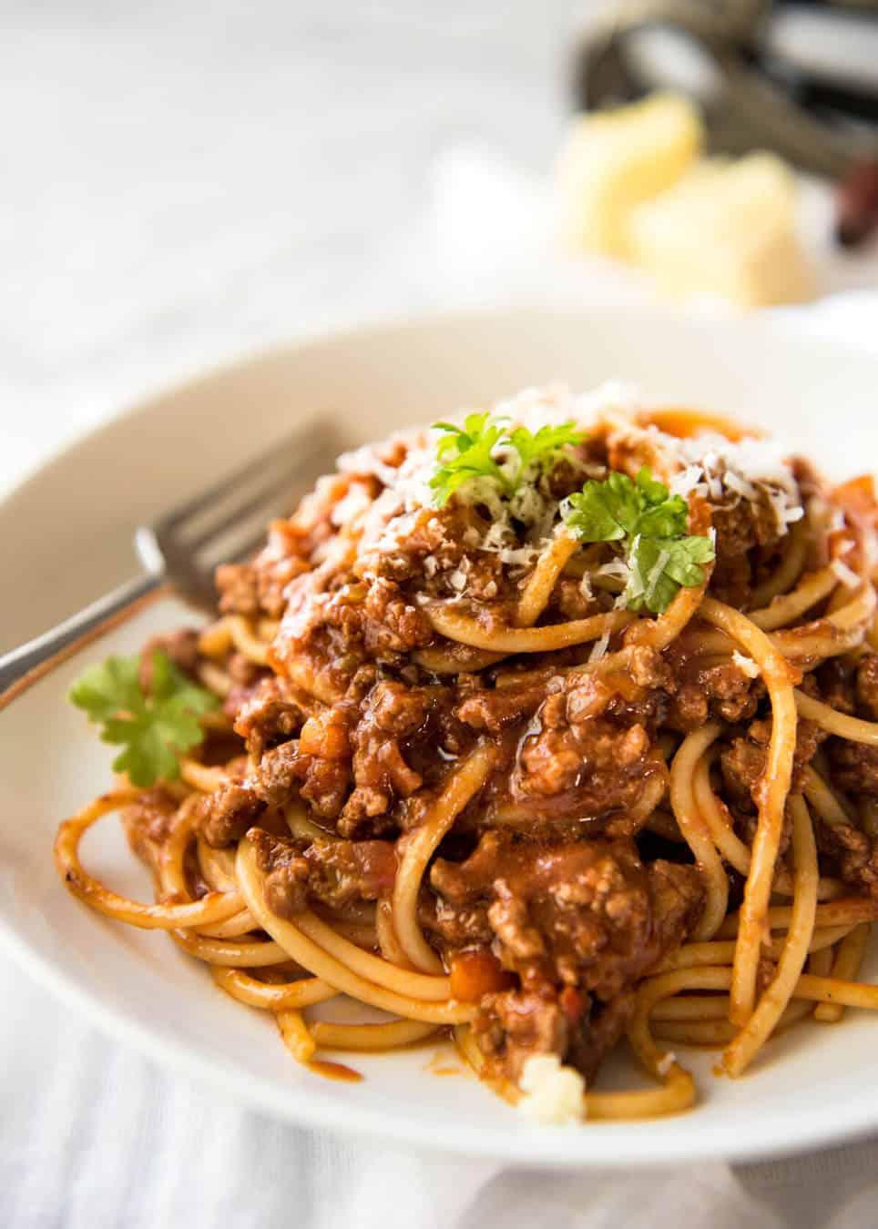 Food Spaghetti Bolognese Recipes