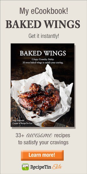 RecipeTin Eats Wings Cookbook