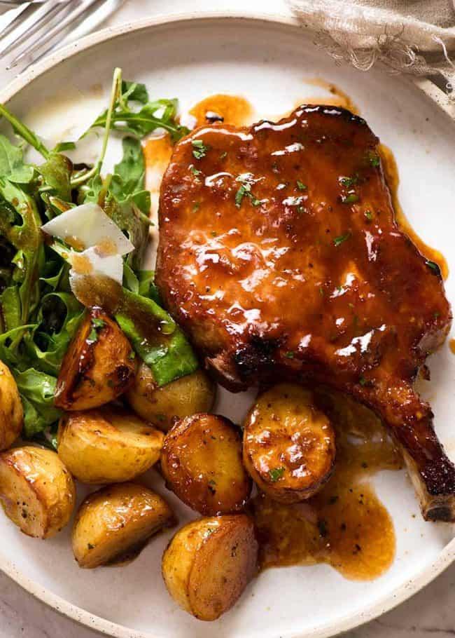 Oven Baked Pork Chops Recipes