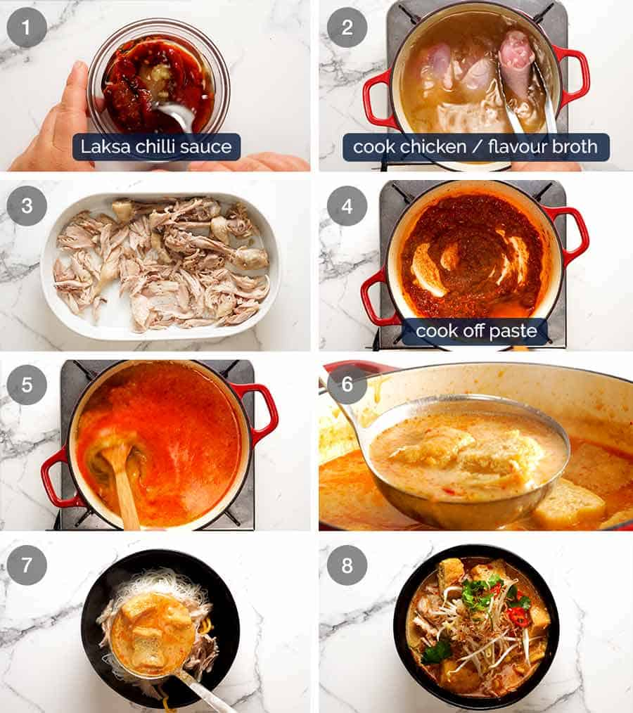 How to make Malaysian Laksa