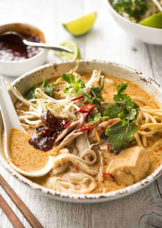 Laksa Noodle Soup Recipetin Eats