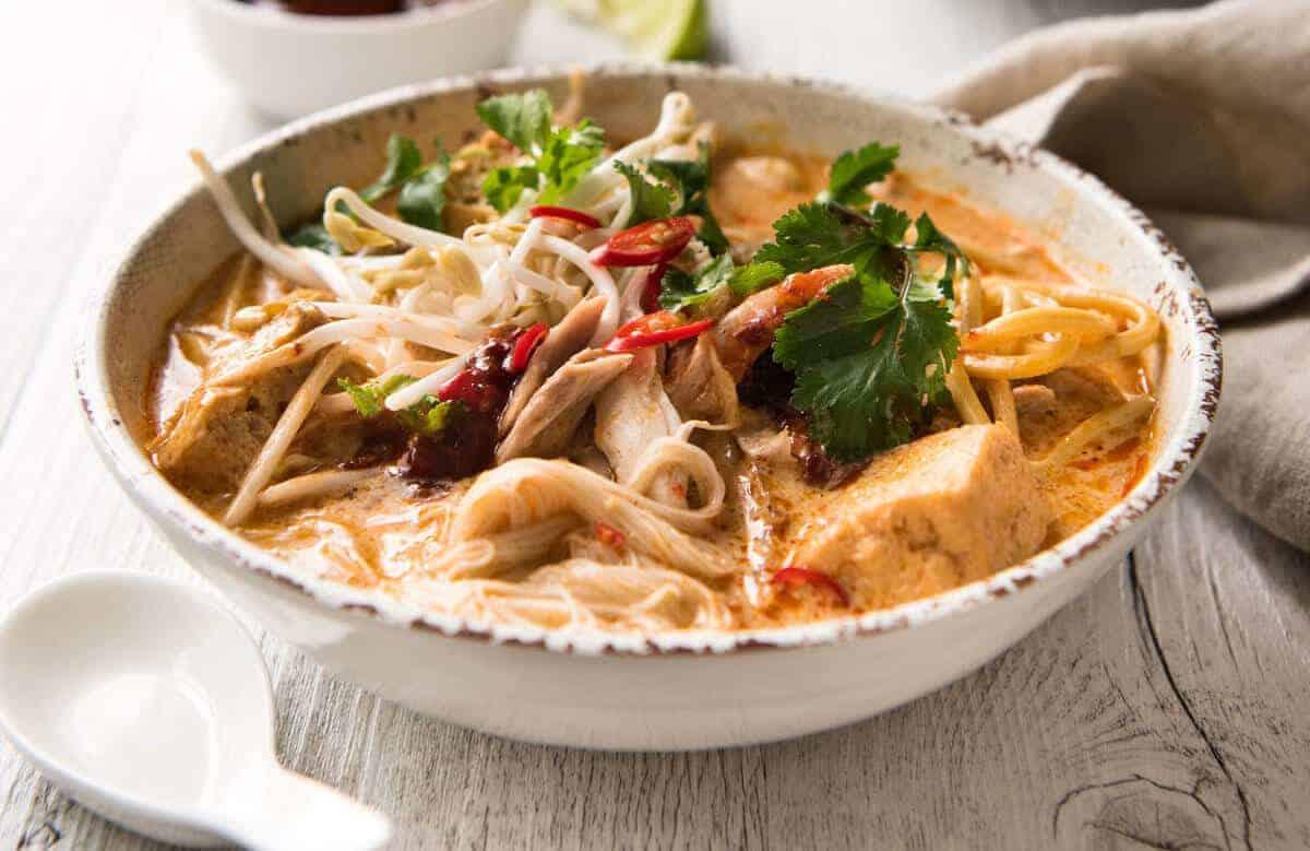 Laksa Noodle Soup | RecipeTin Eats