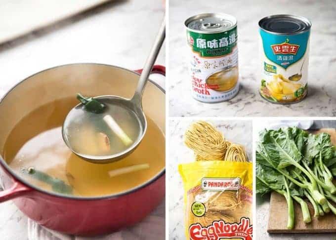 How to make Wonton Soup www.recipetineats.com