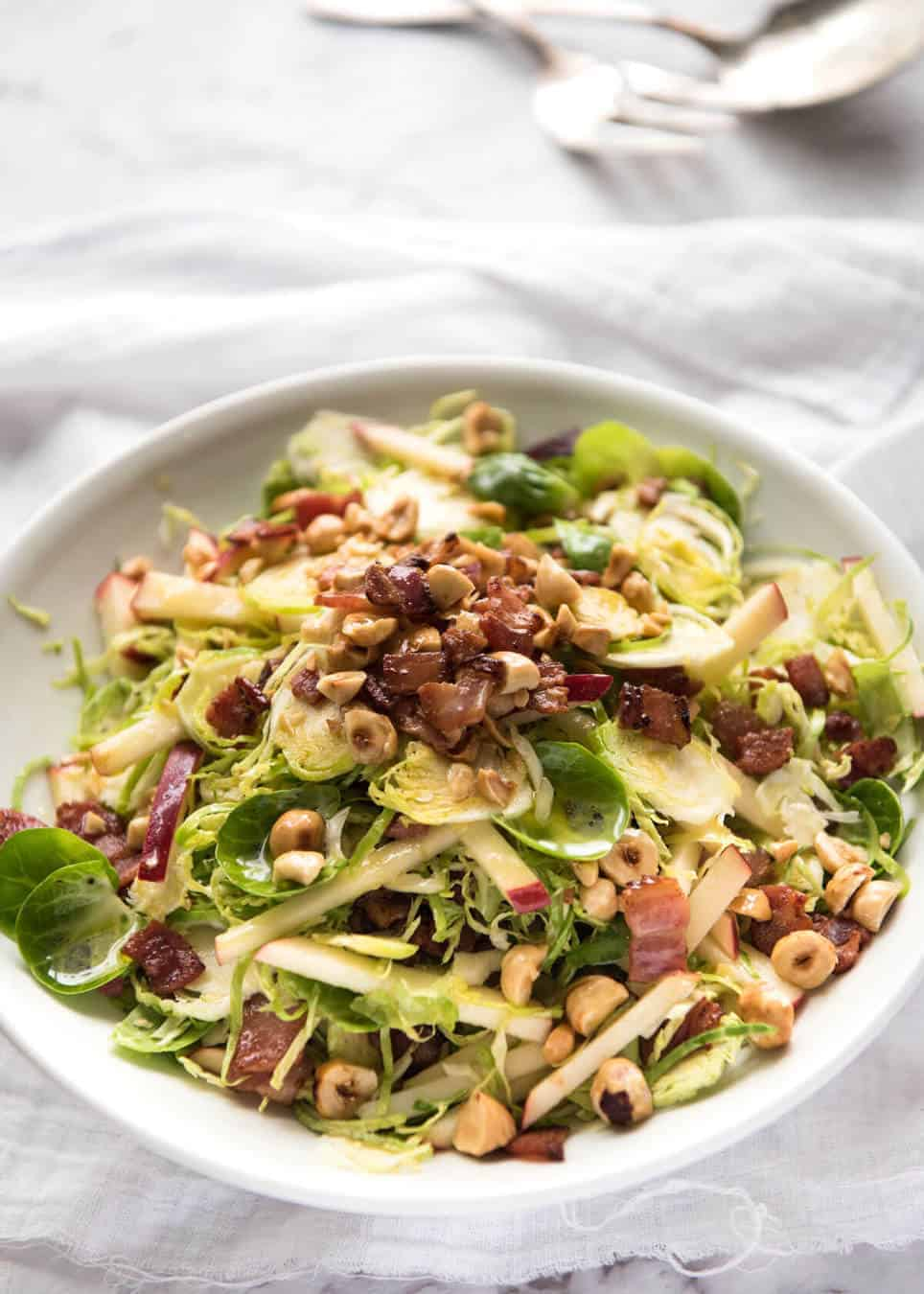 Brussels Sprout Salad Recipetin Eats
